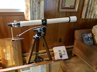Vintage Tasco 60mm Telescope 304x 146x 90x Made In Japan Come With Wood box Hanover, 21076