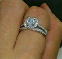 CZ Engagement and Wedding Rings Pennsville, 08070