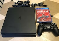 Ps4 slim with 1 game TORONTO