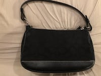 black leather 2-way bag Manalapan, 07726