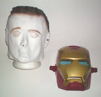 Choice of Michael Myers Latex or Iron Man Talking Mask