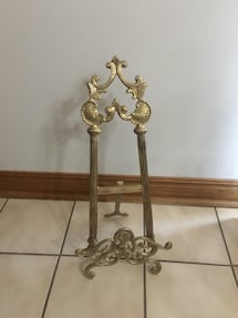 Brass Frame Holder 16inch tall!