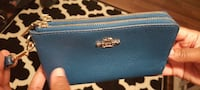 blue leather coach wrislet Toronto, M3A