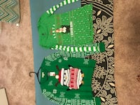 2 ugly Christmas sweaters Westminster