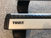 Thule AeroBlade Bars ARB60 Kit 1532 for 2009 GMC Sierra 1500