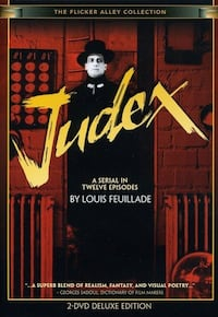 """JUDEX"" 2-Disc DVD - 5-hour-15-minute film"