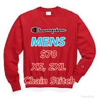 Brand New with Tags Champion Reverse Weave Mens Chainstitch Crewneck Sweater  Mississauga