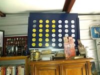 Huge 3.5 foot by 3 foot connect four board Des Moines, 50322