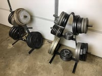 Weights - Weight Trees - Bench Press - Training - Work Out - Fitness - Plates Woodridge