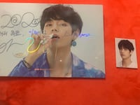 Taes postcard and ID photo from 2020 seasons greetings  Annandale, 22003