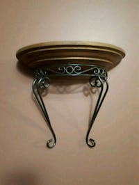 Wood/Iron Sconce Vaughan, L6A 3P6