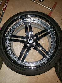 Asanti 3 piece forged wheels with tires  Hillsborough Township, 08844