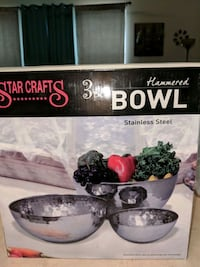 Brand new stainless steel bowls Waco, 76706