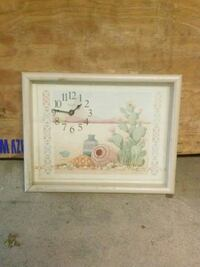 HOME DECOR WALL CLOCK AND OTHER HANGING ITEMS