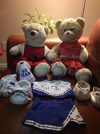 2 Build a Bear with 3 change of clothing and shoes Las Vegas, 89134