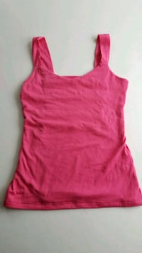 women's open back pink tank top Port Washington, 11050