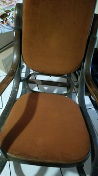 brown and black leather padded chair Hialeah, 33012