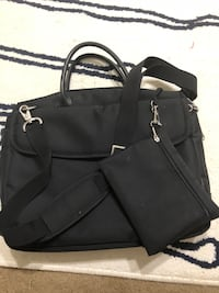 black leather 2-way handbag Montgomery Village, 20886