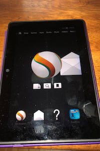 Tablet - Amazon Fire w origami case