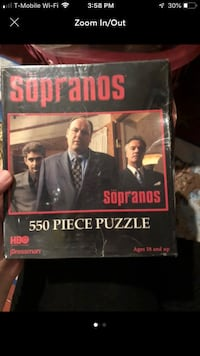 Sopranos puzzle  New York, 11356