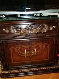 Sold wood Antique cabinet 547 km