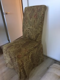 Upholstered/fabric chairs x 2 great condition Vaughan, L4L