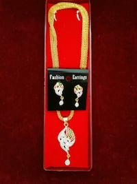 TANISHQUE DAIMOND STON PENDNT CHAIN WITH EARING Nanded, 431604