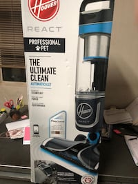 Hoover React Professional Pet Bagless Upright Vacuum UH73201..5-Year Limited Warrant 1208 mi