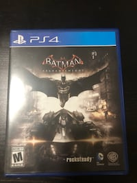 Sony PS4 Batman Arkham Knight case Washington, 20005