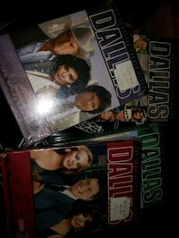 DVD Dallas for complete seasons 2 unopened gift xmas $50 Edmonton, T6X 2G3