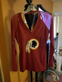 Lady's M Redskins Sexy Couture Sports Top Laurel, 20707