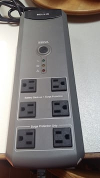 Belkin Battery Backup with Surge Protection (550VA) Guelph