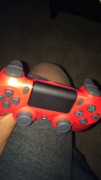 red and black Sony PS4 controller District Heights, 20747