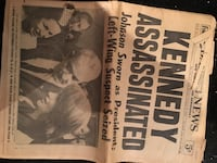 Kennedy Assasinated NY Daily News New York, 11375