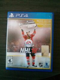 NHL 16 Deluxe Edition(PS4)