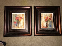 2  8 x 10 Picture Frames Cherry wood Lansing, 48906