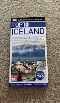 ICELAND TRAVEL GUIDE BOOK  Alexandria, 22314