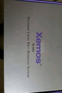 Xemos W-808 Personal Laser Hair Remover System  Vaughan, L4J 5Y7