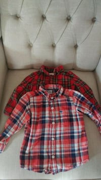 Toddler 12 to 18 month long sleeve dress shirts Innisfil, L0L 1L0