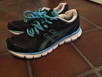 pair of black-and-blue running shoes Big Sandy, 75644