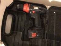 black and red cordless hand drill Guelph, N1L 0L4