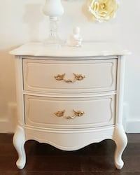 French provincial solid wood night stand  Saskatoon, S7L 1C1