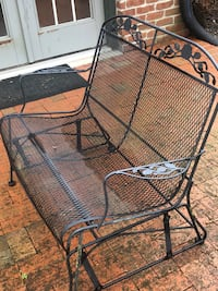 Wrought iron patio set to include all pieces Columbia, 21044