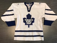 white and blue Toronto Maple Leafs jersey Toronto, M6B 1C9
