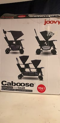 Joovy Caboose Rearseat in Red Silver Spring, 20902