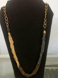 Gold toned chain link necklace Torrance, 90505