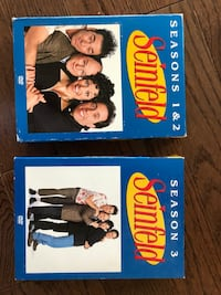 Seinfeld DVD sets seasons 1-3 St. Louis Park, 55416