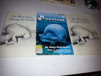 Lot 3 Books West Indian Manatee Florida ocean animal information educational Rockville