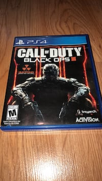 Call of Duty Black Ops 3 PS4 game case Cortlandt Manor, 10567