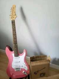 Pink and White Electric Guitar Gaithersburg, 20886